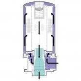 Сливной фильтр для установки на верхней крышке бак