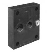 Плиты для стыкового монтажа клапанов контроля давления, регуляторов расхода и электромагнитных распределителей. СЕТОР-03, -05, -Р05, -Р07, -08 PM*