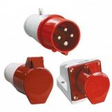 Промышленные вилки и розетки Schneider Electric на 16 и 32А быстрозажимные